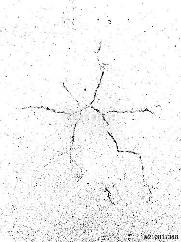 375x500 Texture Of Cracked Concrete. Grunge Abstract Background