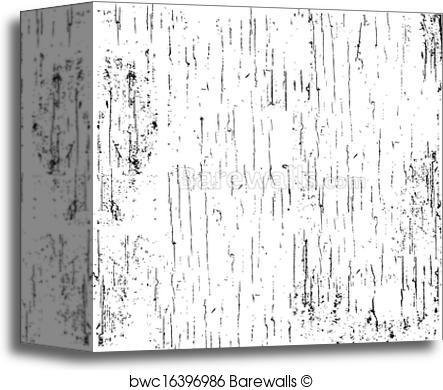 443x390 Canvas Print Of Vector Scratched Distress Overlay Barewalls