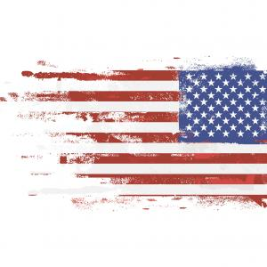 300x300 Grunge Usa Flag American Distress Texturevector Createmepink