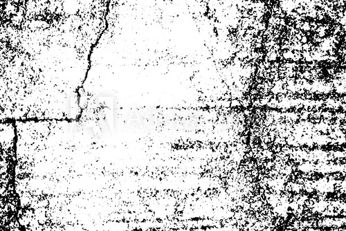 500x334 Distressed Vector Texture Of Concrete Wall. Obsolete Wall Texture