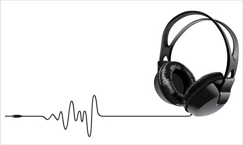 500x299 Dj Headphones Vector Free Free Vector Download (342 Free Vector