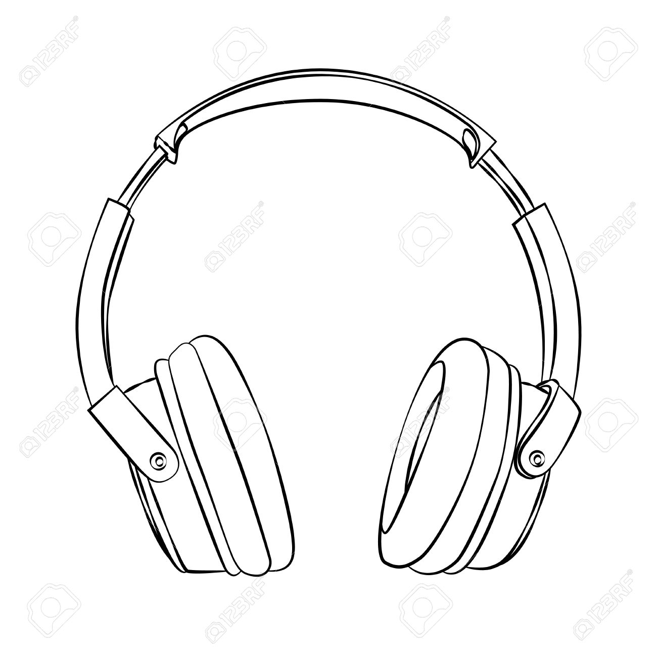 1300x1300 Headphones Clipart No Background Collection