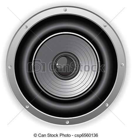 450x470 Speaker Clipart Dj Speaker Cute Borders, Vectors, Animated, Black