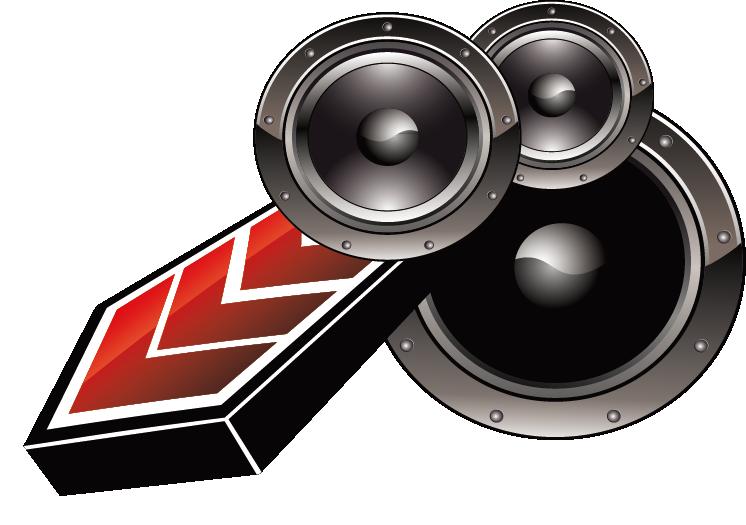 746x525 19 Sound Vector Car Speaker Huge Freebie! Download For Powerpoint