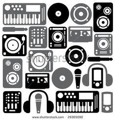 236x246 Speakers Vector Stock Photos