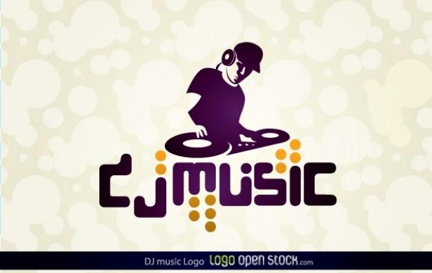 626x396 Dj Music Logo Vector Free Download