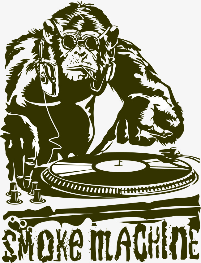 650x849 Trend Gorilla Dj Vector, Trend, Gorilla, Dj Png And Vector For