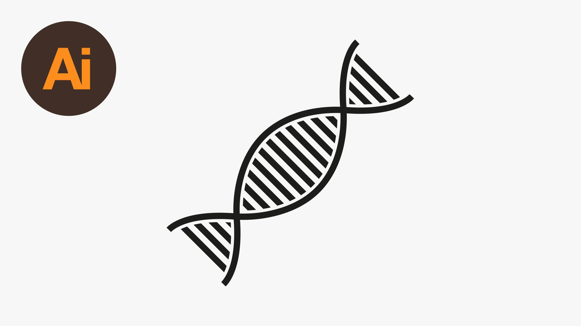 1920x1080 Learn How To Draw A Dna Vector In Adobe Illustrator Dansky