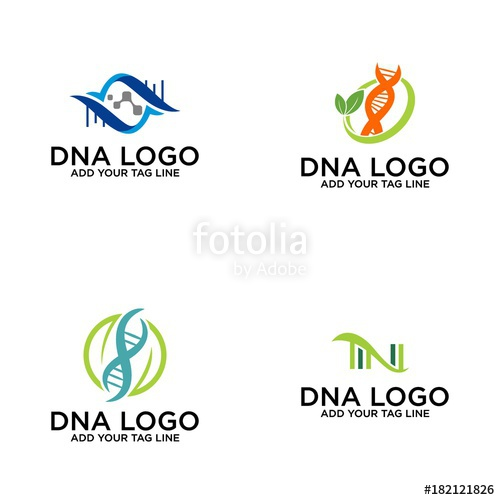 500x500 Colorful Dna Logo Vector Concept Stock Image And Royalty Free