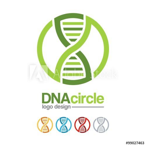 500x500 Dna Logo Infinity Design Logo Vector For Dna