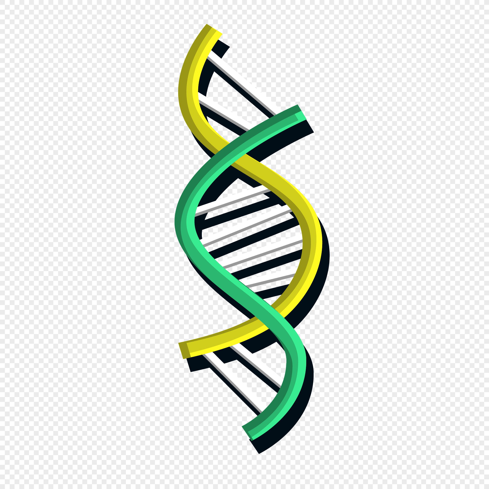 2020x2020 Dna Color Chain Vector Material Png Image Picture Free Download