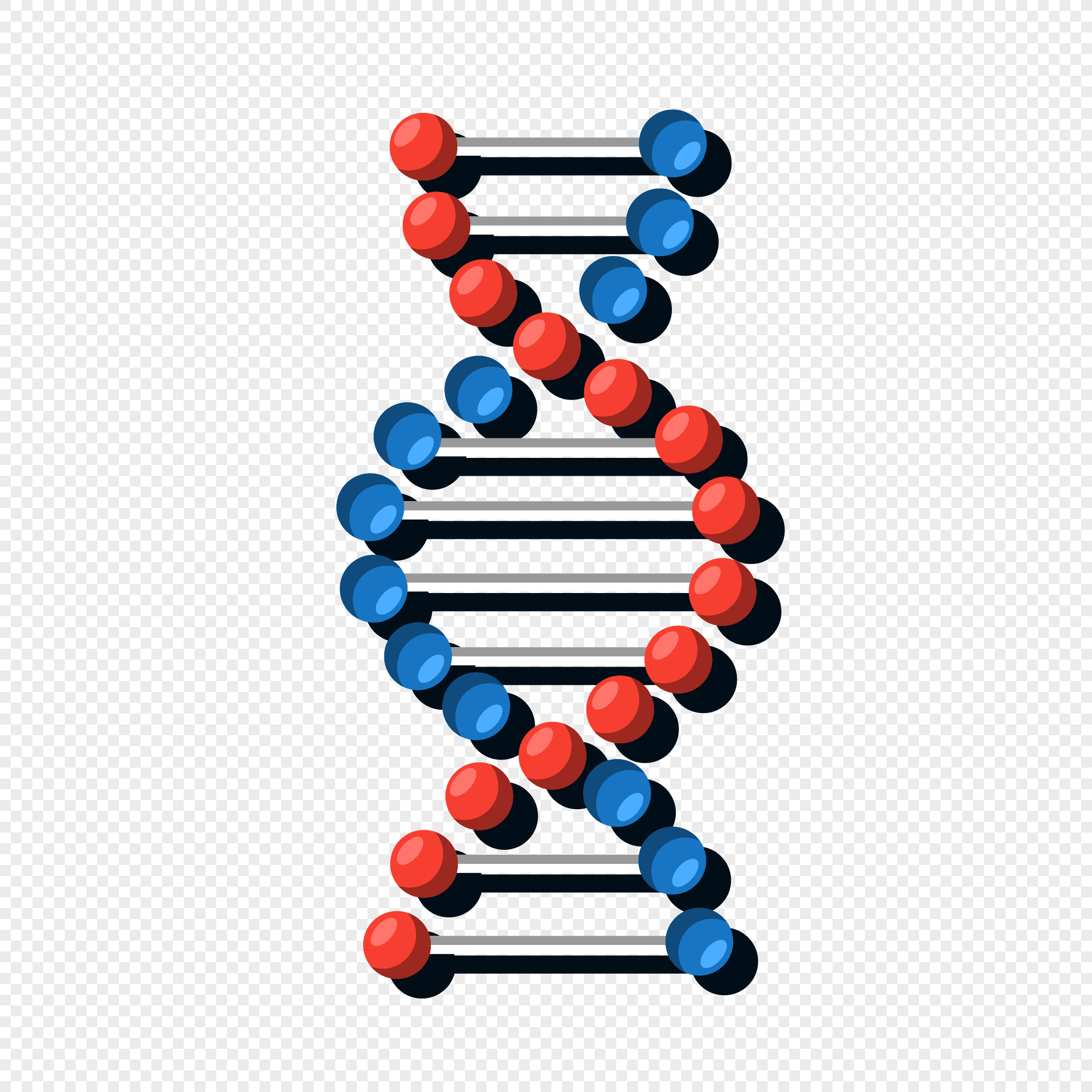 2020x2020 Dna Color Molecular Vector Material Png Image Picture Free