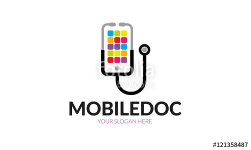 500x300 Mobile Doctor Logo Stock Image And Royalty Free Vector Files On