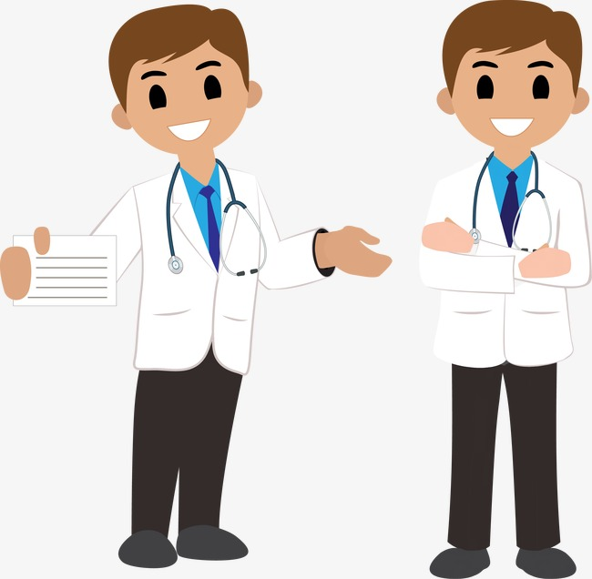 650x636 Vector Doctor Standing, White, Medical, Doctor Vector Png And