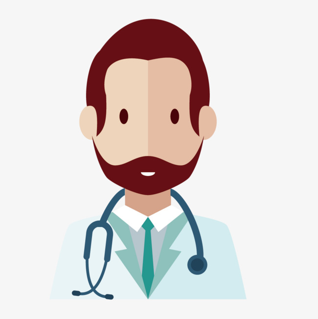 650x652 Vector Male Doctor, Vector, Male Doctor, Flat Png And Vector For