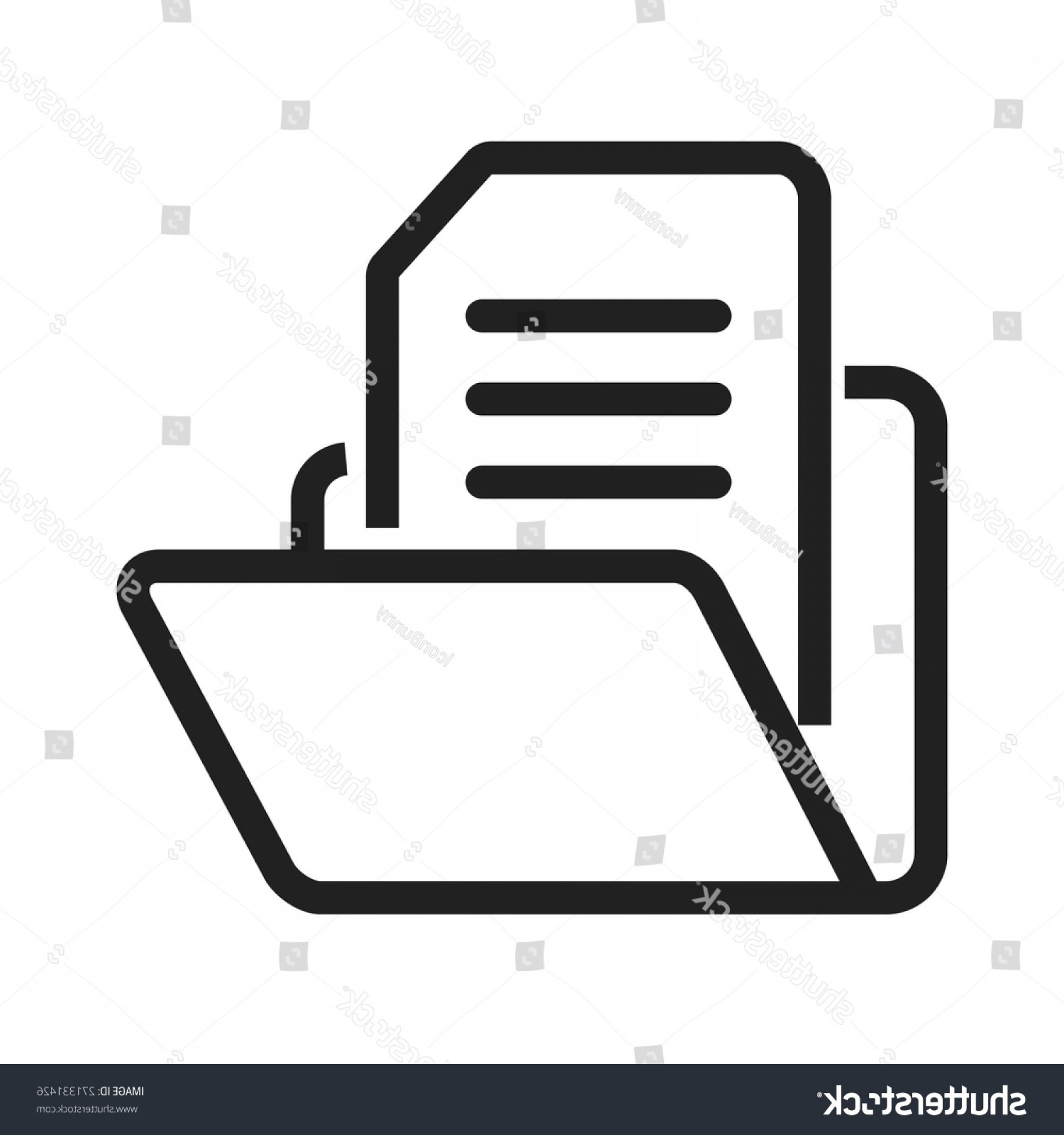 1800x1920 File Folder Document Icon Vector Image Lazttweet