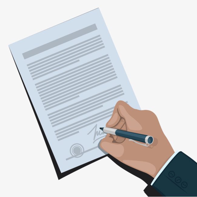 650x651 Vector Sign Documents, Write, Write, Signature Png And Vector For