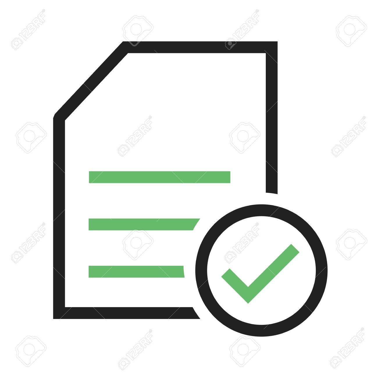 1300x1300 Document Icon Vector