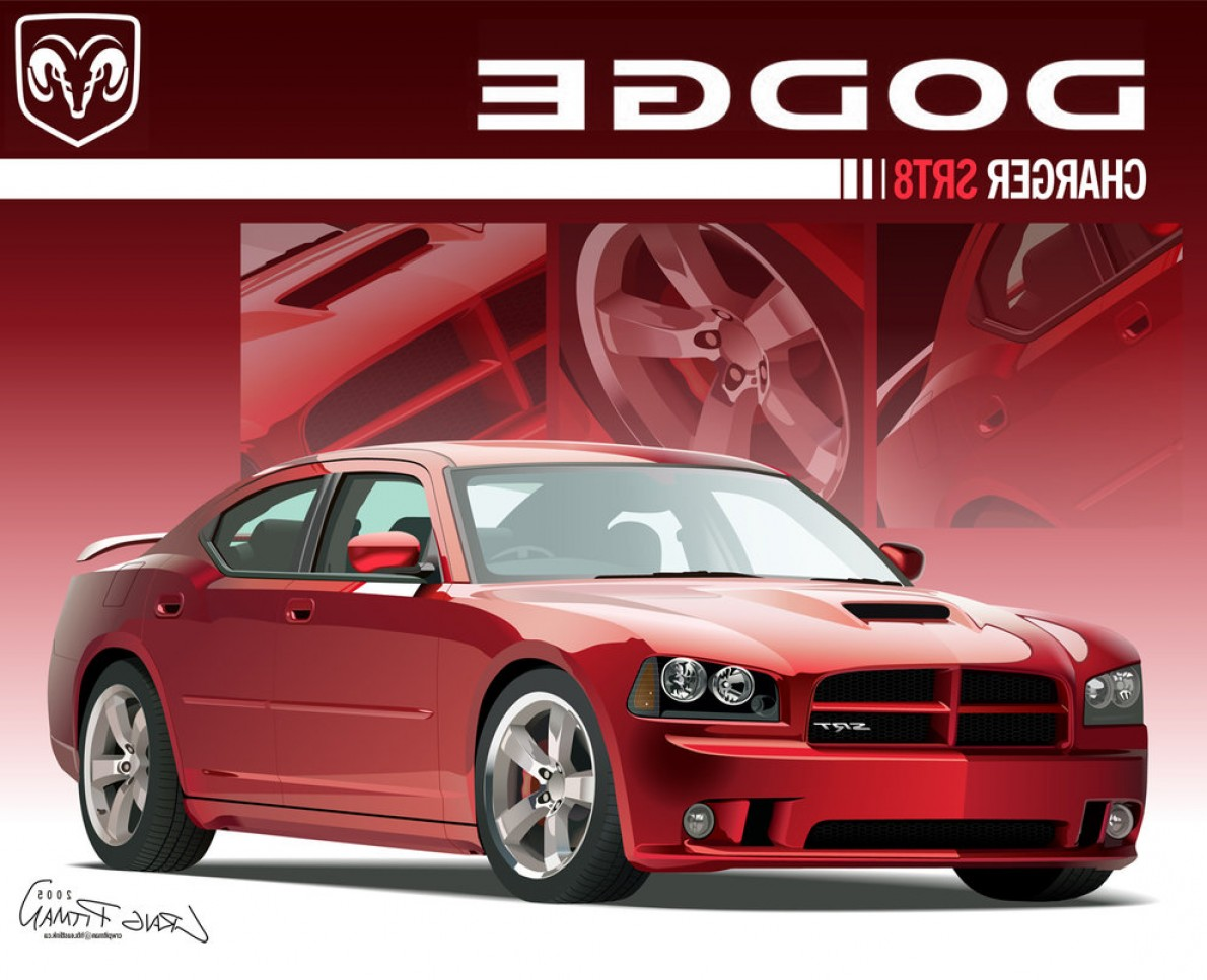 1190x967 Dodge Charger Srt Vector Shopatcloth