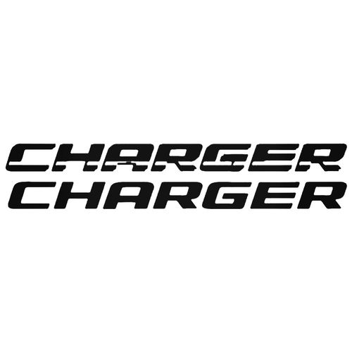 500x500 Dodge Charger Auto Logo Vector Aftermarket Decal Sticker