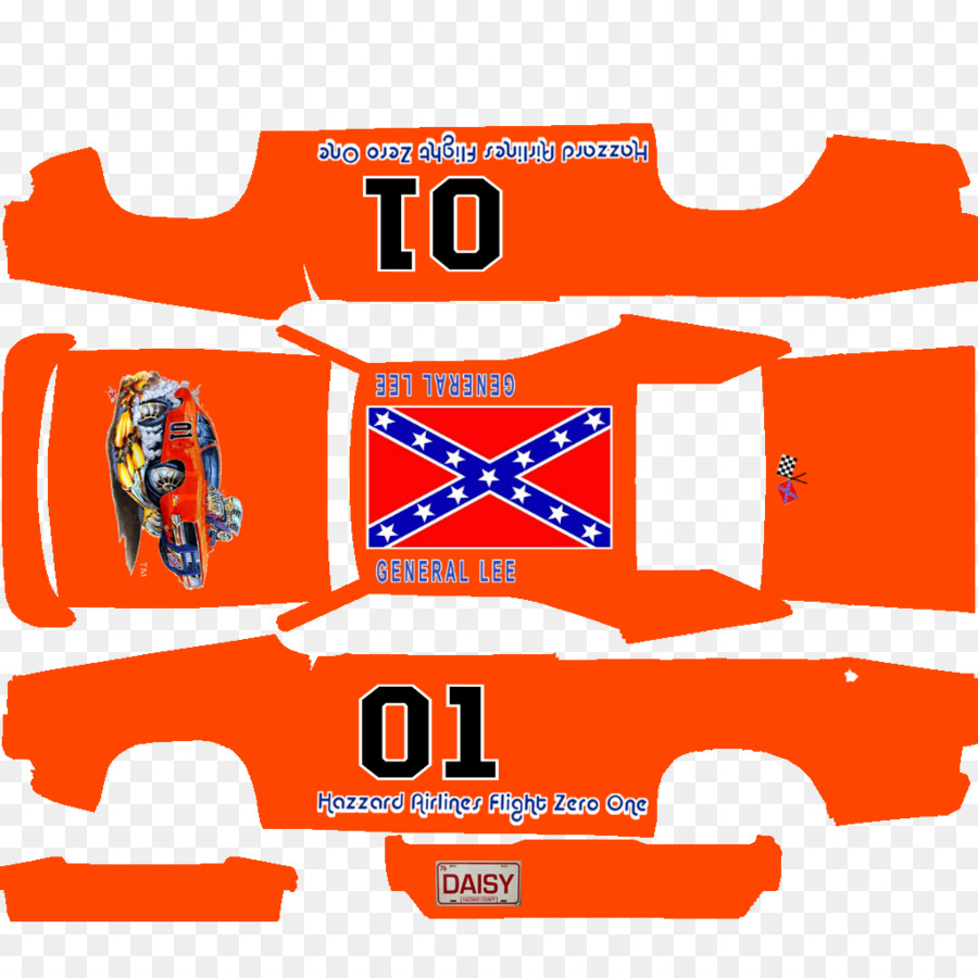 900x900 General Lee Dodge Charger Car Logo Decal
