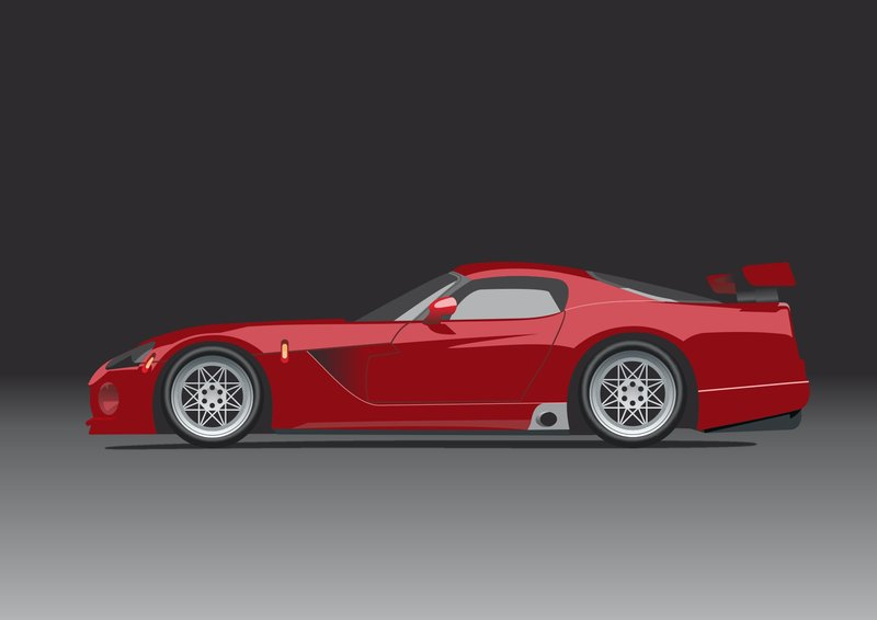 800x566 Dodge Viper Vector By Samicehrabace