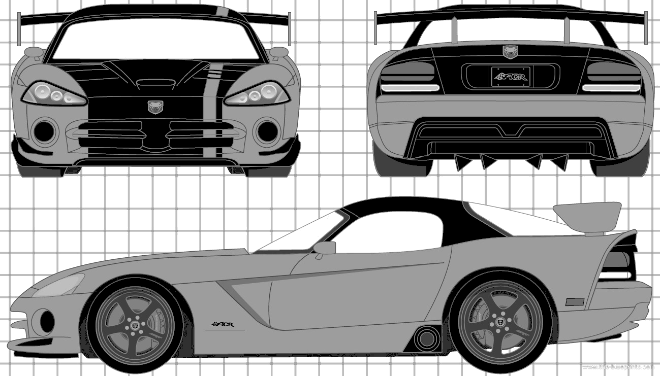 1299x741 Blueprints Gt Cars Gt Dodge Gt Dodge Viper Srt10 Acr