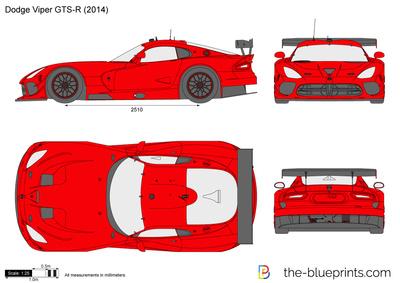 400x283 Dodge Viper Gts R Vector Drawing