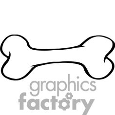 236x236 Dog Bone Vector Art Free