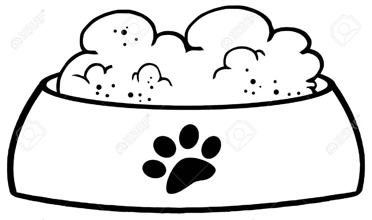 Dog Bowl Vector