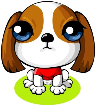 334x368 Cartoon Dog Free Vector Download (16,896 Free Vector) For