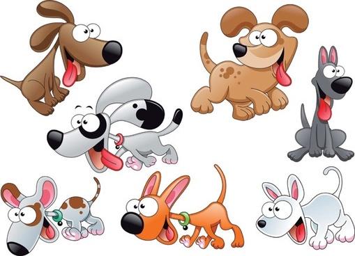 509x368 Cartoon Dog Vector Free Vector Download (16,922 Free Vector) For