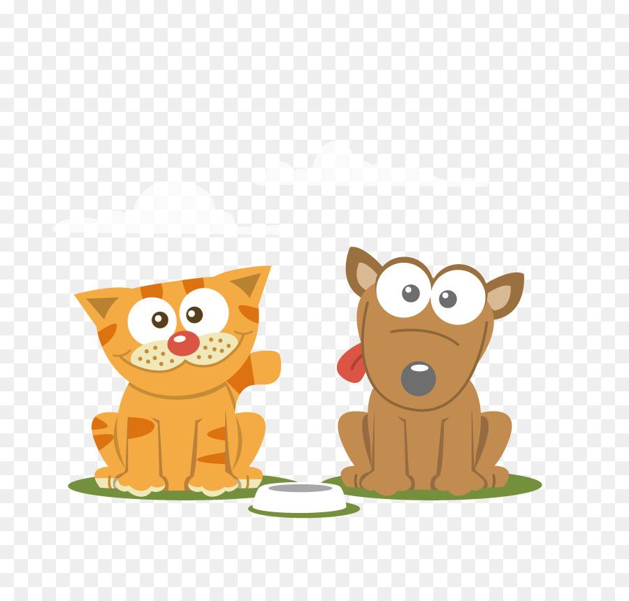 900x860 Cat Dog Cartoon Pet
