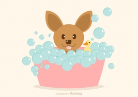 285x200 Dog Grooming Free Vector Graphic Art Free Download (Found 1,663