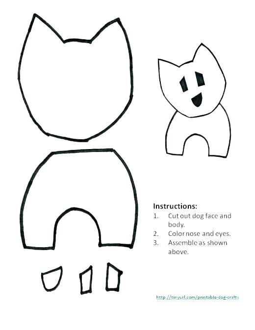 520x673 Dog Face Outline Coloring Pictures Dog Puppy Ear Heart Outline