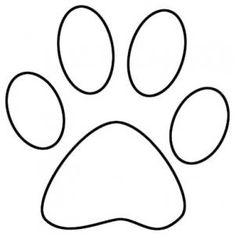 Dog Paw Vector Free
