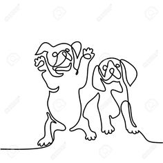 236x236 Hand Drawn Vector Illustration.sketch Animals. Doodle Dog. Cocker