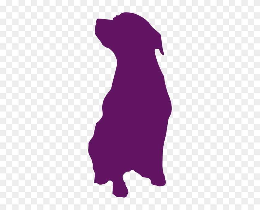 840x678 Purple Dog Clip Art At Clkercom Vector Online