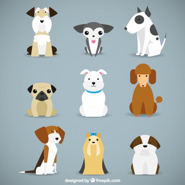 626x626 Dog Vector Art