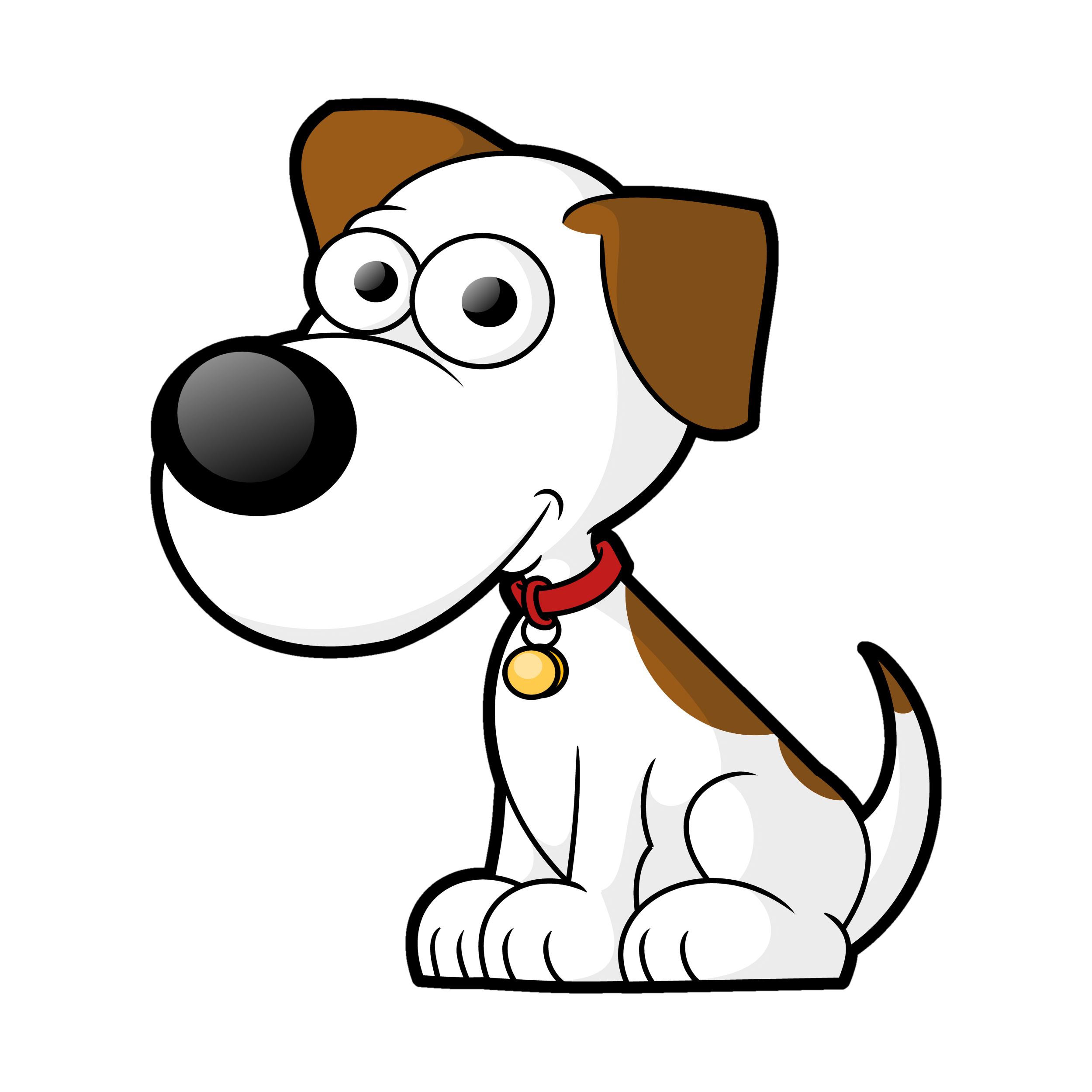 2500x2500 Dog Vector Clipart Library