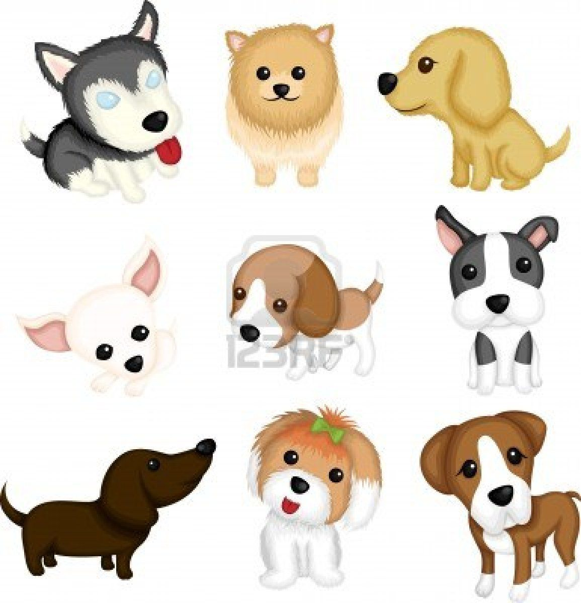 1155x1200 A Vector Illustration Of Different Dog Breeds In 2018 Dog Art