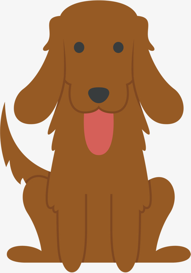 650x925 Brown Dog Vector, Dog Vector, Dog Clipart, Brown Png And Vector