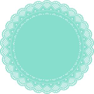 300x300 Collection Of Free Border Vector Doily. Download On Ubisafe