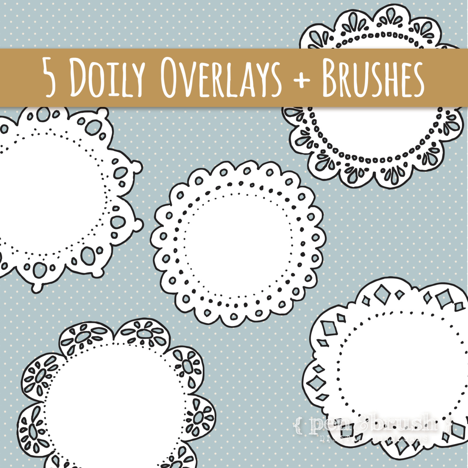 1500x1500 Lace Cute Clipart Collection