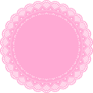 300x300 19 Circle Clip Black And White Doily Huge Freebie! Download For