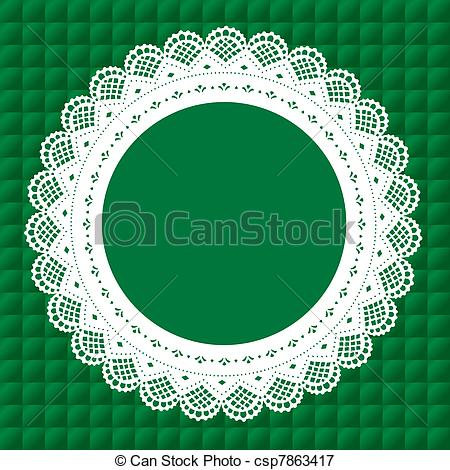 450x470 Circle Clipart Doily