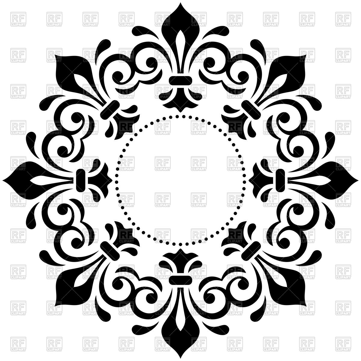 1200x1200 Clipart Lace Free