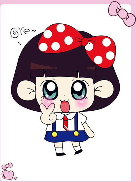 450x600 Free Cute Cartoon Doll Vector Free Vector In Coreldraw Cdr ( .cdr