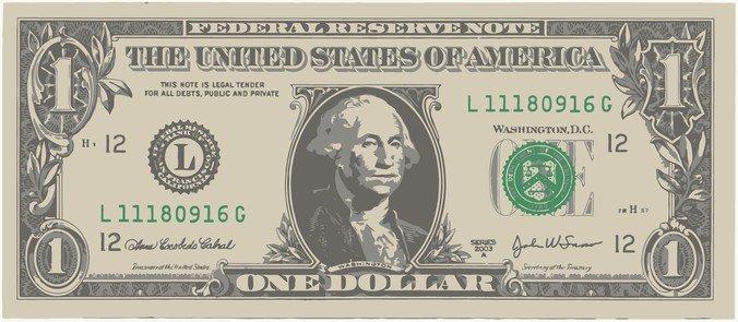 676x295 Free One American Dollar Bill Psd Files, Vectors Amp Graphics