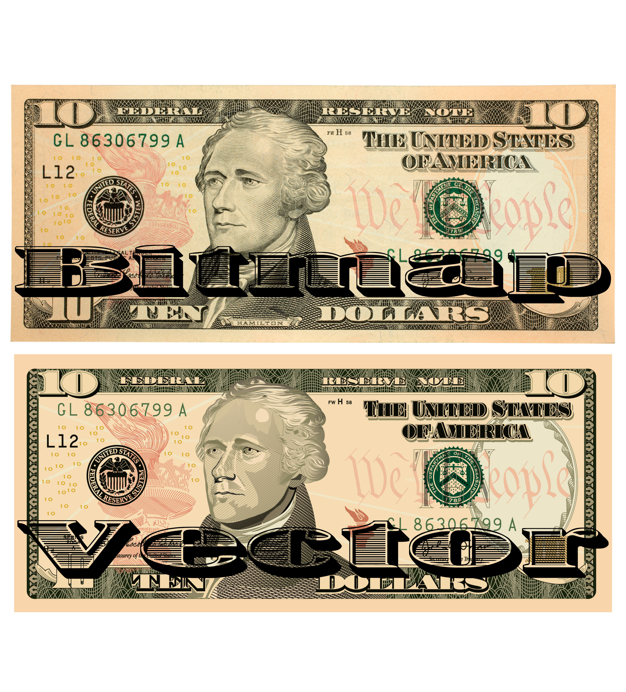 2017x2227 Ten Dollar Bill Vector Squad Blog